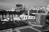 Paris black and white photos - Forum des Halles