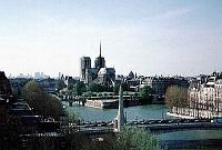 Paris photos - view from the roof terrace of the Institut du Monde Arabe