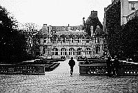 Paris black and white photos - Marais - Hôtel de Sully
