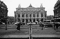 Paris black and white photos - Opéra Garnier